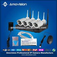 Wireless wifi outdoor/indoor P2P Pan/Tilt/Zoom PTZ electric optical zoom wifi ip camera with nvr kit