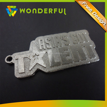 2015 Professional Cheap Wholesale Custom Embossed Metal And Matte Finished Promotion Dog Tag