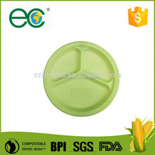 Biodegradable psm eco natural wood plate for restaurants