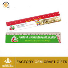 Custom 15cm plastic flexible pvc soft rulers for promotion