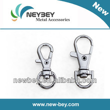 Cheap metal snap buckle hook for fashion handbag
