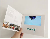 advertising video brochure /video greeting card with USB