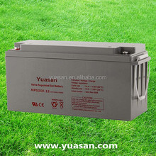 Yuasan Most Reliable Sealed Lead Acid VRLA Gel AGM Battery with Long Life--NPG150-12(12V150AH)