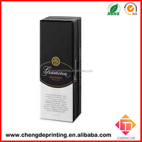 luxury design paper oil box packaging