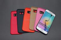 Aplus Manufacturer Ultra slim PU leather samsung galaxy s6 edge cases