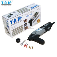 220~240V 170W Variable Speed Dremel Electric Rotary Tool/Mini Grinder/Mini Drill with Auxiliary Handle and Accessories