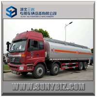 30 cbm Fuel Tanker Trailer Cheap Price Factory Direct Sell Oil Tank Truck