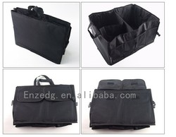 Convenient practical Car trunk organizer Car Organizer Bag,black car boot organizer bag