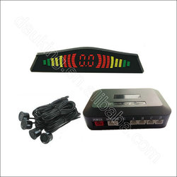 Hot selling led car parking sensor 12v high quality waterproof car parking sensor system with 4 sensors