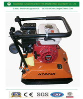 construction machinery Plate Compactor for sale /gasoline Soil Tamper Compactor HZR80B vibratingPlate Compactor /tamping rammer
