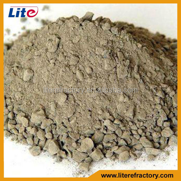 Fire Clay Mortar : High alumina fire clay and mullite refractory thermal