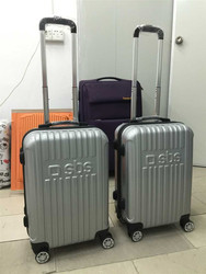 2015 Popular Trolley Case Durable PC Travel Luggage