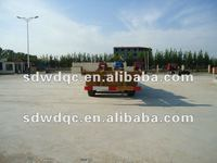flat bed container cargo semi trailer truck