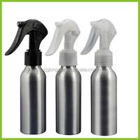 20ml 30ml 50ml 100ml 400ml 500ml aluminum bottles with trigger sprayer