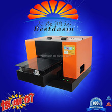 2015 the latest industrial flatbed UV Printer, fast speed over 20sqm/h, affordable Price,LED UV A3 DS1800 Flatbed printer