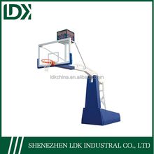 Basketball Hoop Electric Hydraulic Basketball Stand for competition