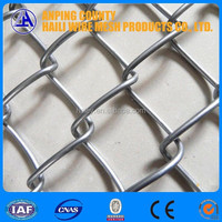 Anping haili galvanized steel mini chain link fence black mesh from direct factory for 29 years' experience with ISO, BV and CE