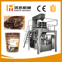 Certified automatic cacao beans packing machine