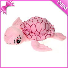 OEM Plush Toy Sea World Series Big Eye Green Pink Sea Turtle Soft Toy