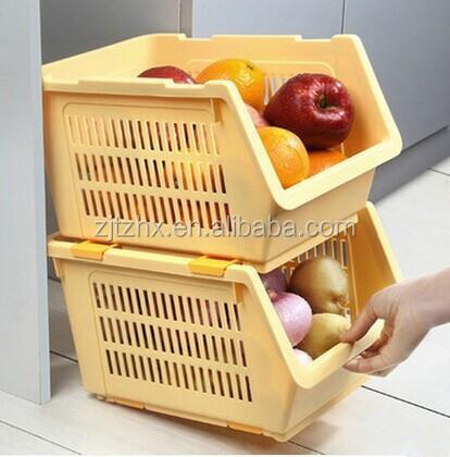 japonais cuisine en plastique panier de rangement bac. Black Bedroom Furniture Sets. Home Design Ideas