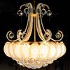 Luxury gold crystal chandelier