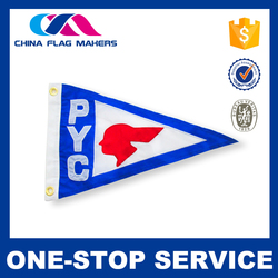 Hot Sell Oem Design Mini Soccer Team Pennant Flag