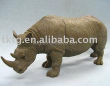 Bronze Rhinoceros Sculpture