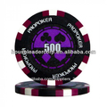 14g pro de arcilla poker chip de póquer/numeradas de fichas de póquer