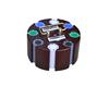 high quality round tray poker game set,200pcs chip set