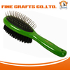 Wooden Pin and Bristle Dog Comb for Dog Hair Combing