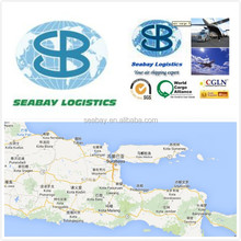 Seabay air freight forwarder service china to Surabaya