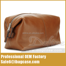 Amazon Hot Leather Cosmetic Washbag For Amazon Brand Seller