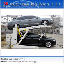 Simple automatic car parking equipment smart garage for 2 cars