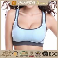 Low Price china supplier sportswear, crane sports bra