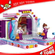 2012 china top ten selling products abs plastic building miniature house block house toy girl stage show bricks 20126