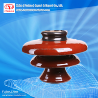 ANSI P-33-Y Porcelain 33kV Pin Type of Electrical Station Insulator
