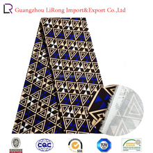 New arrival african style of100%cotton woven digital printting fabric with triangle design