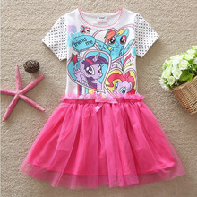 my little pony summer dress wholesale polka dot skirt pink and white dress