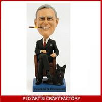 2014 Personal Bobble Head Wholesales/Boss Design Bobblehead dolls
