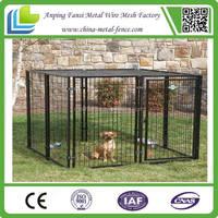 6 Gauge Galvanized wire mesh fence animal cage