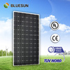 Bluesun top efficiency mono 210w china solar panels cost