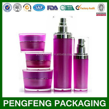 Cone cosmetic packaging bottles and jars