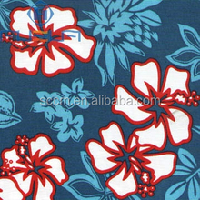 Wholesale Printed Cotton Fabric Poplin 40*40/133*100
