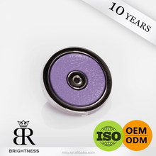 Fancy large purple color snap button for pants Brightness A3-80009