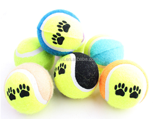 Pet Custom Coloured Weight Fluorescent Tennis Ball