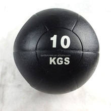 2015 10KG New double handle medicine ball rubber weight ball