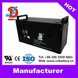 AGM deep cycle battery 12V 120AH for Alarm&Firefighting System