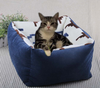 waterproof Soft fleece Small Cotton Soft pet Dog Cat Bed House