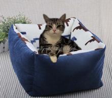 waterproof Soft fleece Small Cotton Soft pet Dog Cat Bed House