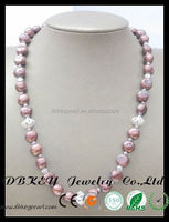 hot sell jewelry freshwater pearl dog tag necklace manufacturer